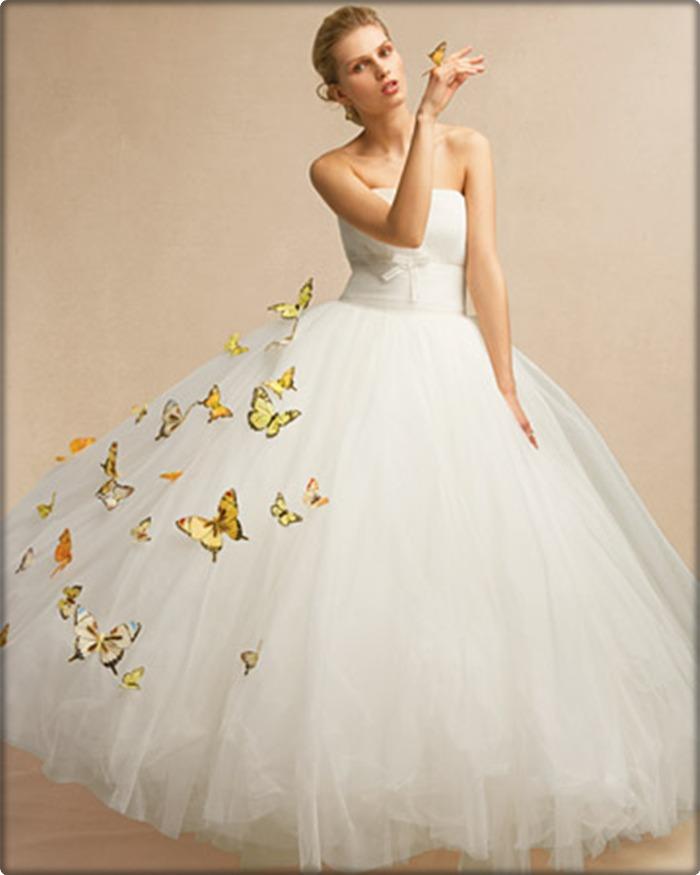 Как можно своими руками украсить свадебное платье