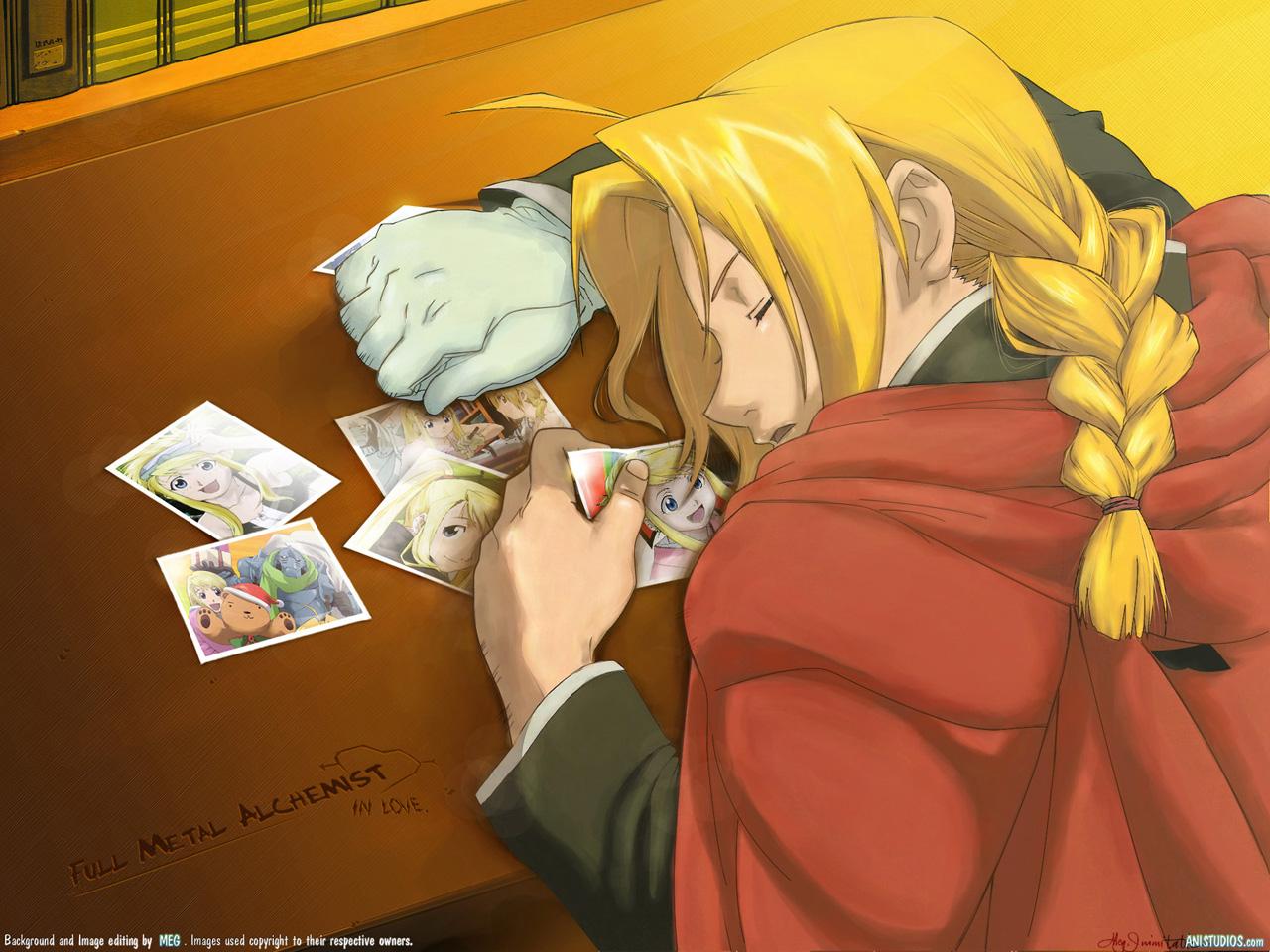 Fullmetal Alchemist Edward Elric and Winry