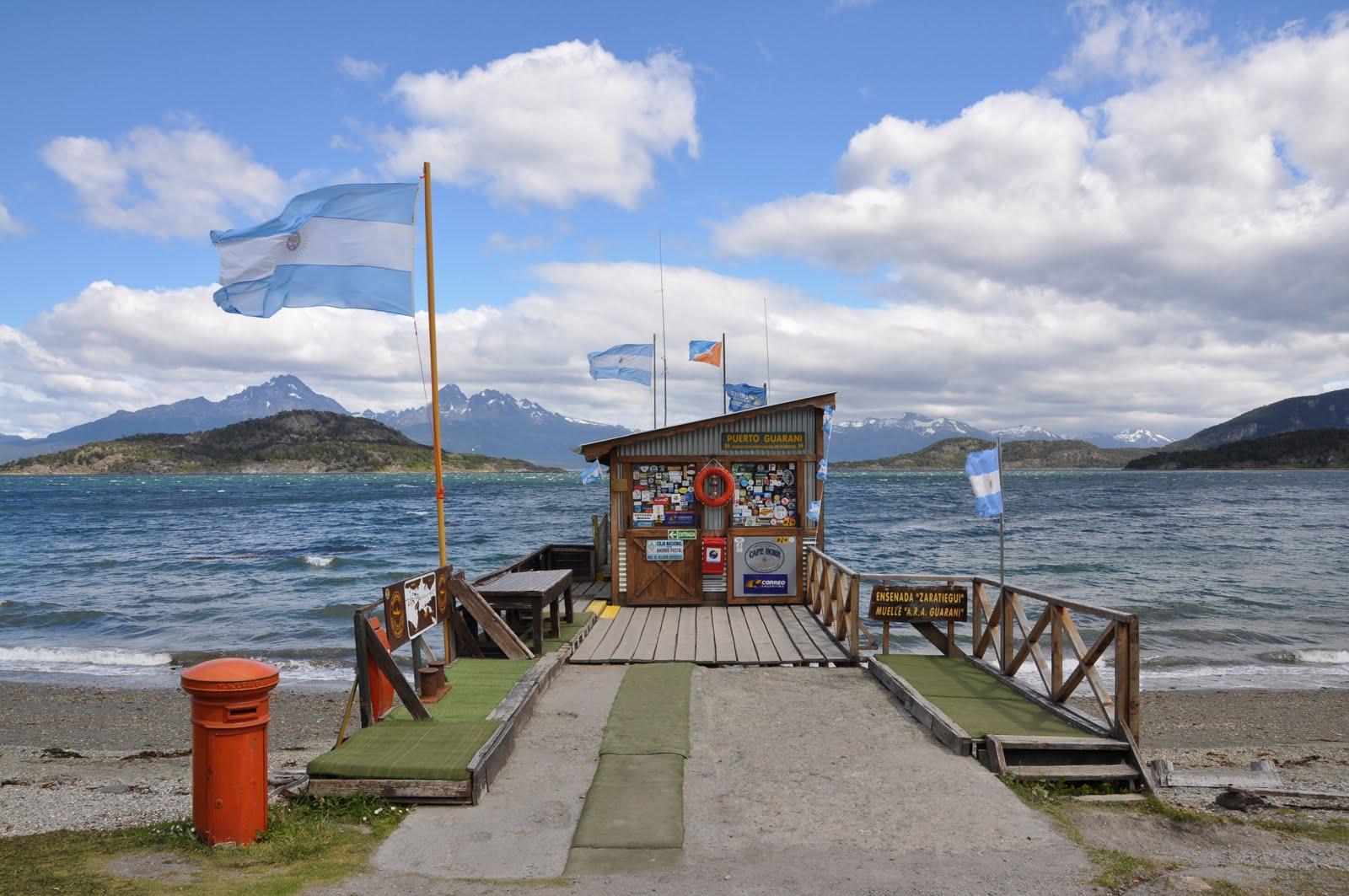 Fotografiando patagonia oficina postal mas austral del for Oficina postal mas cercana