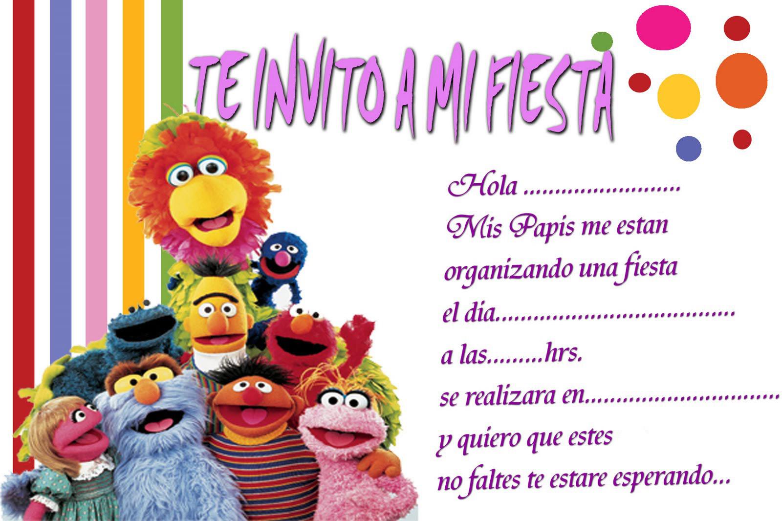 Invitaciones infantiles gratis auto design tech - Fiesta cumpleanos infantil ...