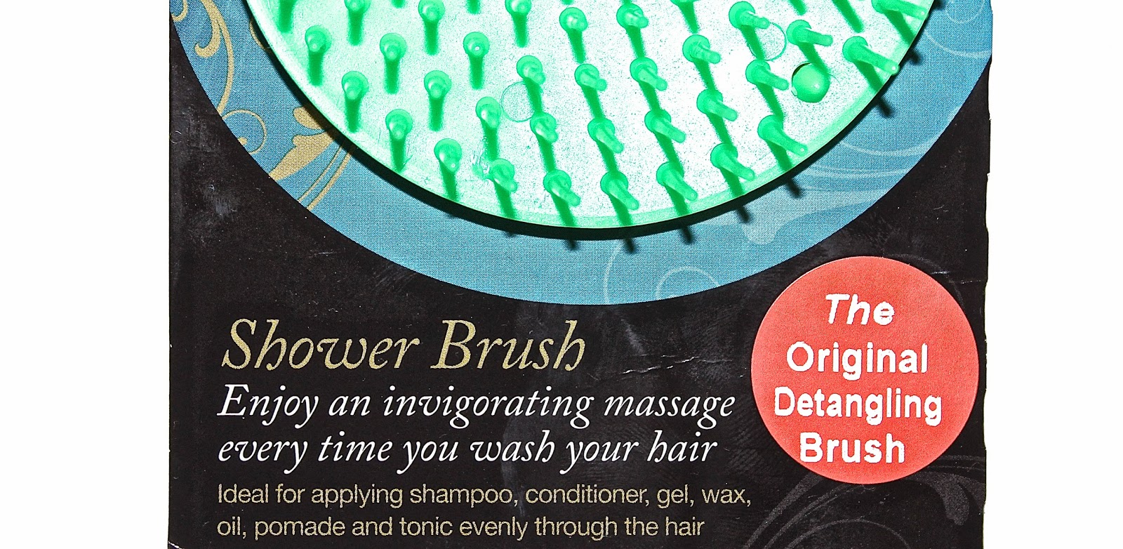 packaging stating Denman Detangling brush is the original detangling brush