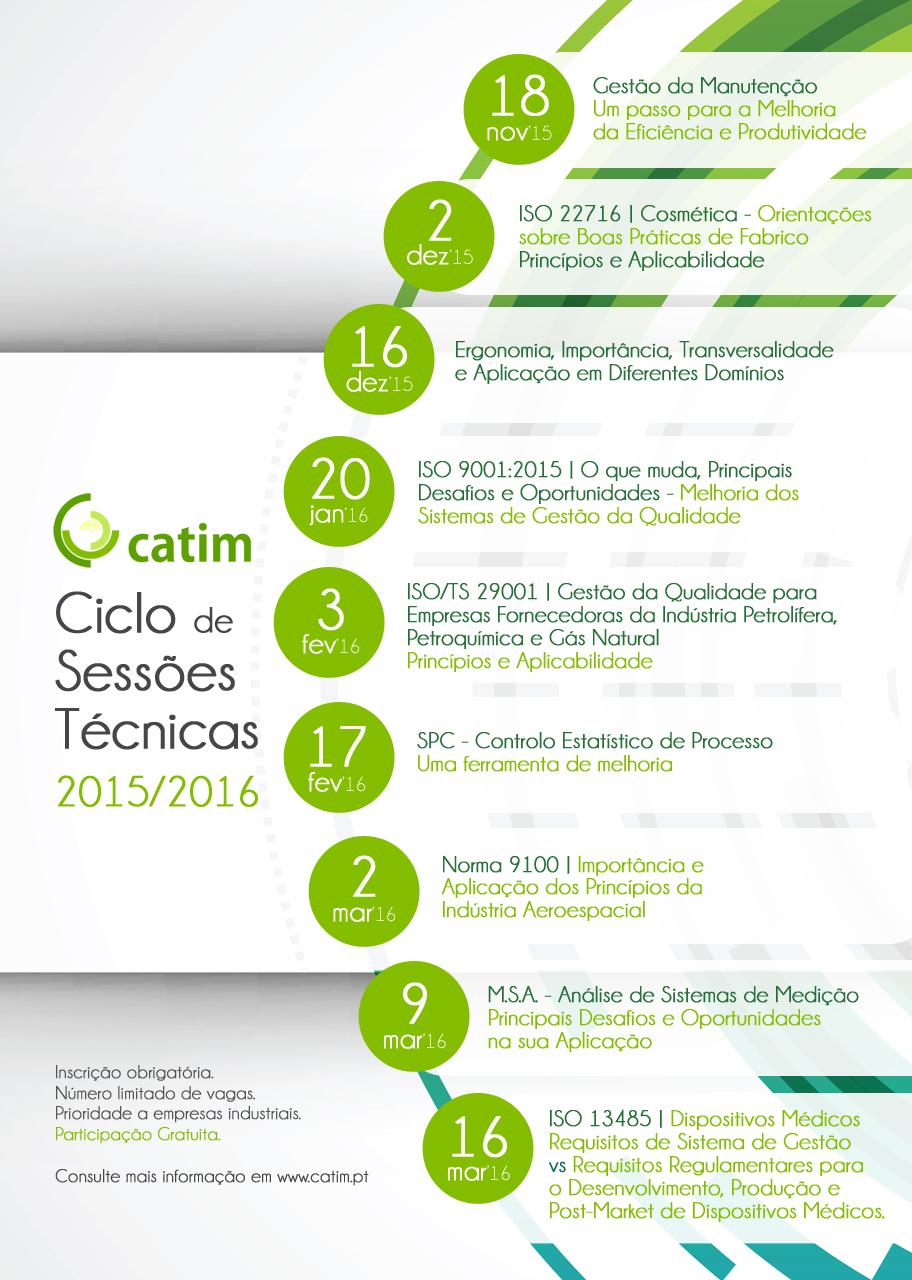 Ciclo de Sessões Técnicas CATIM