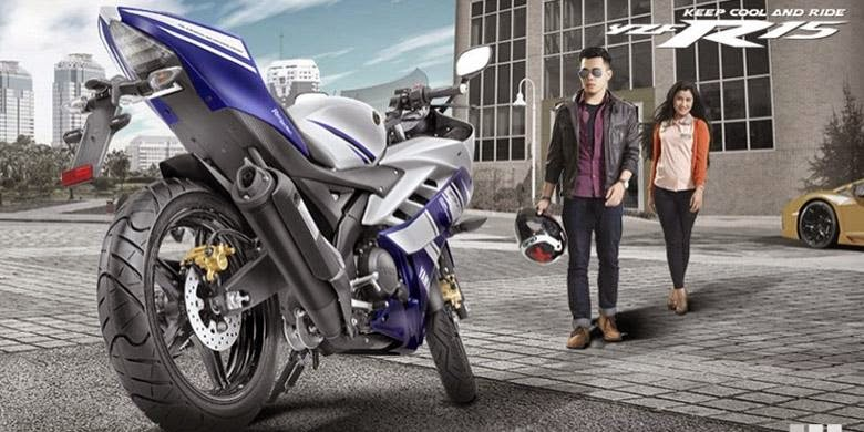 Foto Yamaha YZF R15 Spesifikasi Harga Lengkap di Indonesia 2014