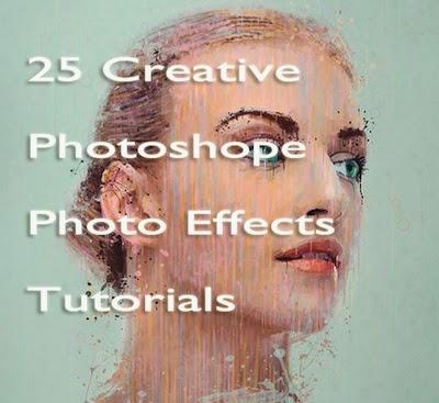 25 Creative Photoshop Photo Effects Tutorials