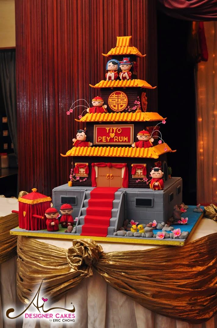 Ai Designer Cakes by Eric Chong, Kuala Lumpur, Custom design Wedding ...