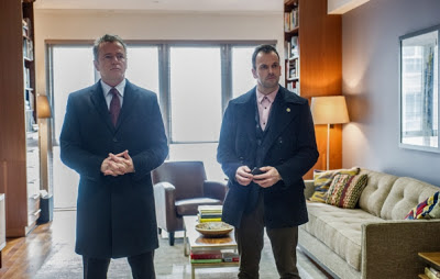 Jonny Lee Miller as Sherlock Holmes and Aidan Quinn as Captain Toby Gregson CBS Elementary Episode # 16 Details