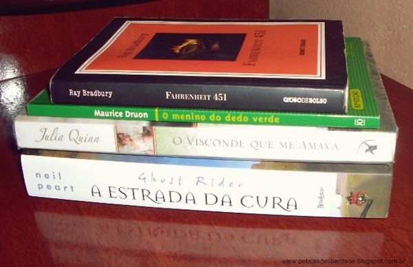 livros, Pétalas de Liberdade, Março
