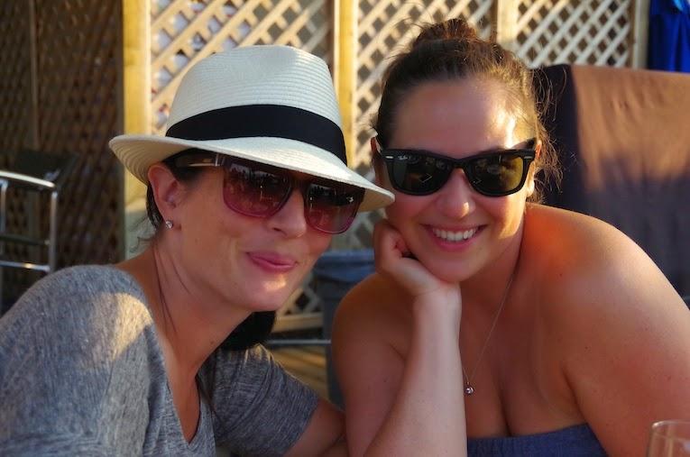 Girls at Lunch- Hillside Winery- BTBU