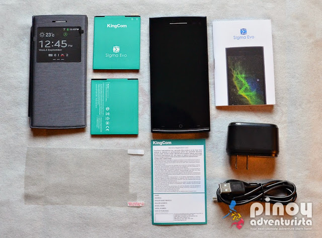KingCom Sigma EVO Specs Unboxing and Review