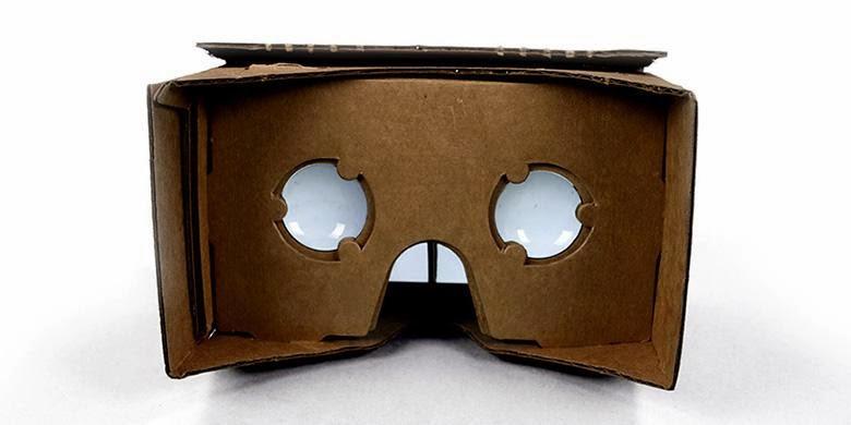 Google Cardboard, Headset VR buatan sendiri dari bahan kardus
