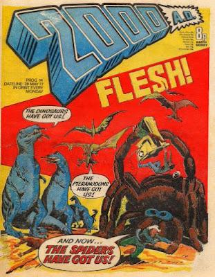 2000AD #14, Flesh