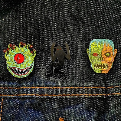 Designer Con 2015 Exclusive Yesterdays Artist Edition Pin Series by Skinner