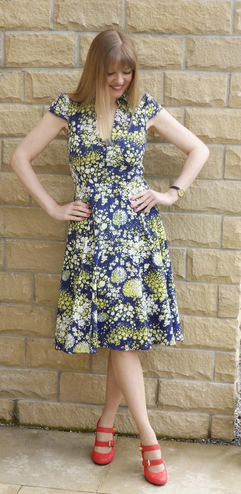 Vintage style easter dress