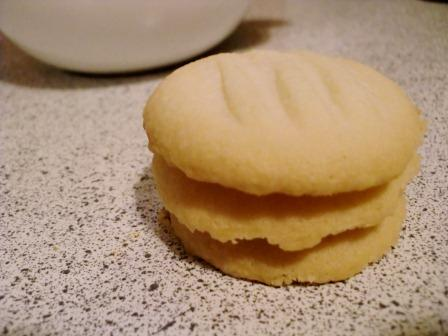 The Brighter Side of Gluten Free: Shortbread Cookies