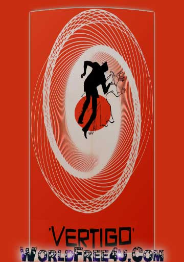 Poster Of Vertigo In Dual Audio Hindi English 300MB Compressed Small Size Pc Movie Free Download Only At pueblosabandonados.com