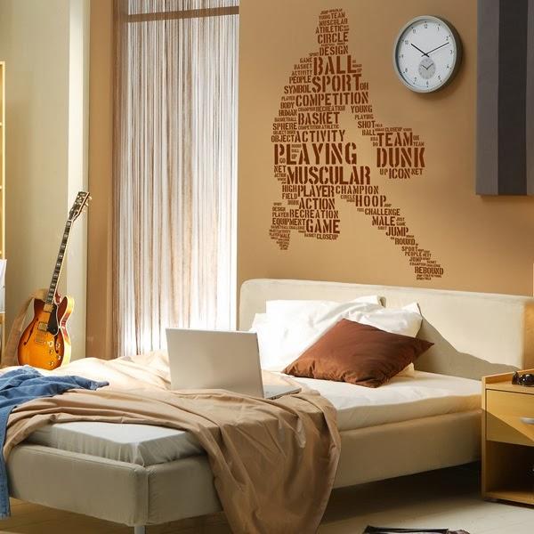 Papel pintado vinilos decorativos modernos for Vinilos para dormitorios modernos