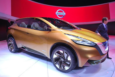 Nissan Resonance Concept gives glimpse of next Murano