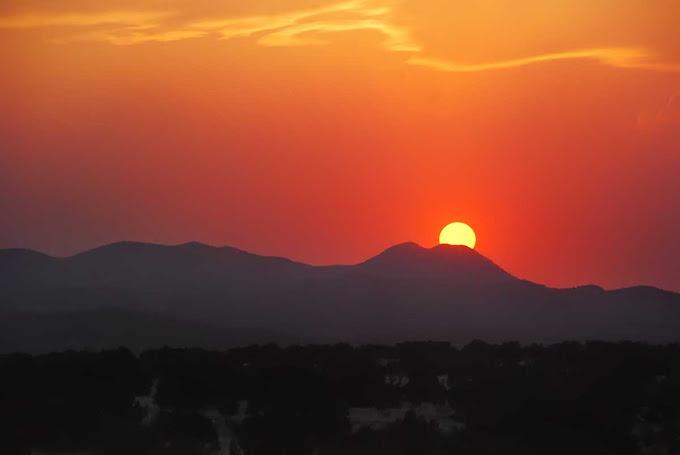 自転車の 四国 自転車 旅行 : New Mexico Sunrise