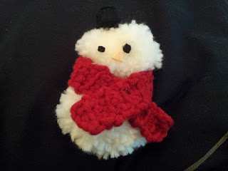 Noël-déco-bonhomme-de-neige-laine