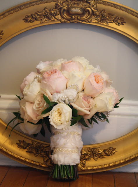 Saratoga Hall of Springs Rose Bridal Bouquet - Splendid Stems Event Florals
