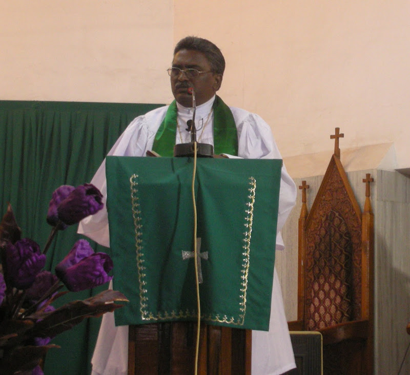 bible message by Rev.K.Sudhakar Rajaratnam, pastor, trinity lutheran church, visakhapatnam