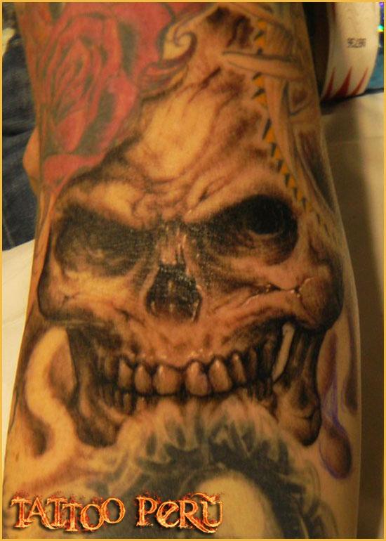 ¿En que parte del Cuerpo se puede Tatuar?. 01_craneo_con_sombras