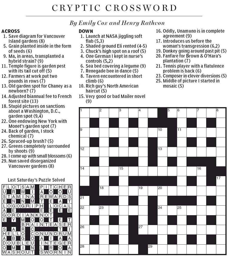 Garden pest crossword clue 5 letters garden ftempo for Soil 8 letters crossword clue