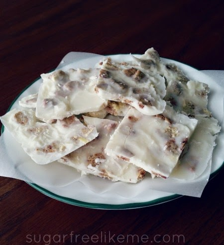 Low Carb Coconut Bark