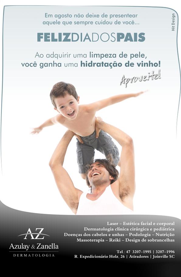 Clínica Azulay e Zanella dia dos pais
