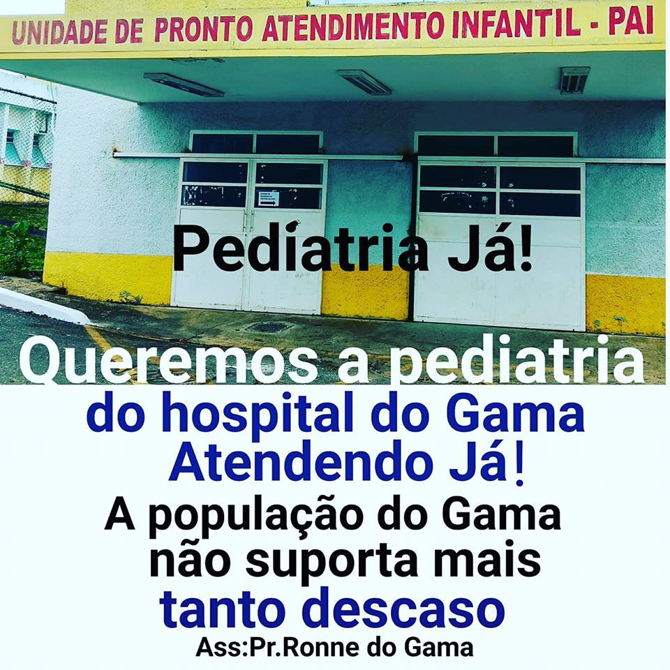 O POVO DO GAMA PEDE