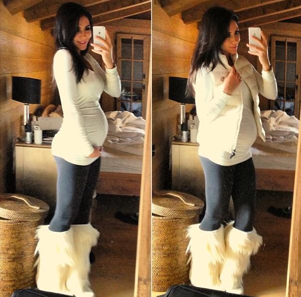 Фото беременную девушку