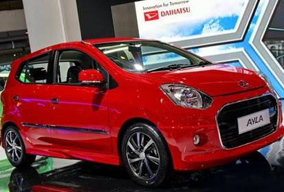 Rincian Harga Mobil Daihatsu Ayla Terbaru 2014