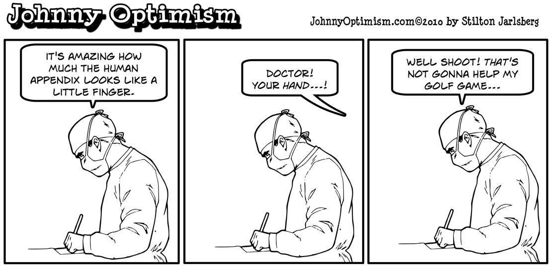 Johnny Optimism, johnnyoptimism, surgeon, stilton jarlsberg