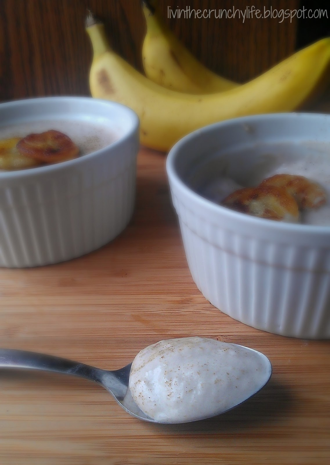 Banana Pudding: Two Ways (dairy/gluten-free, optional egg free)