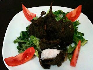 Cocina con Aníbal Rocas volcánicas de bacalao