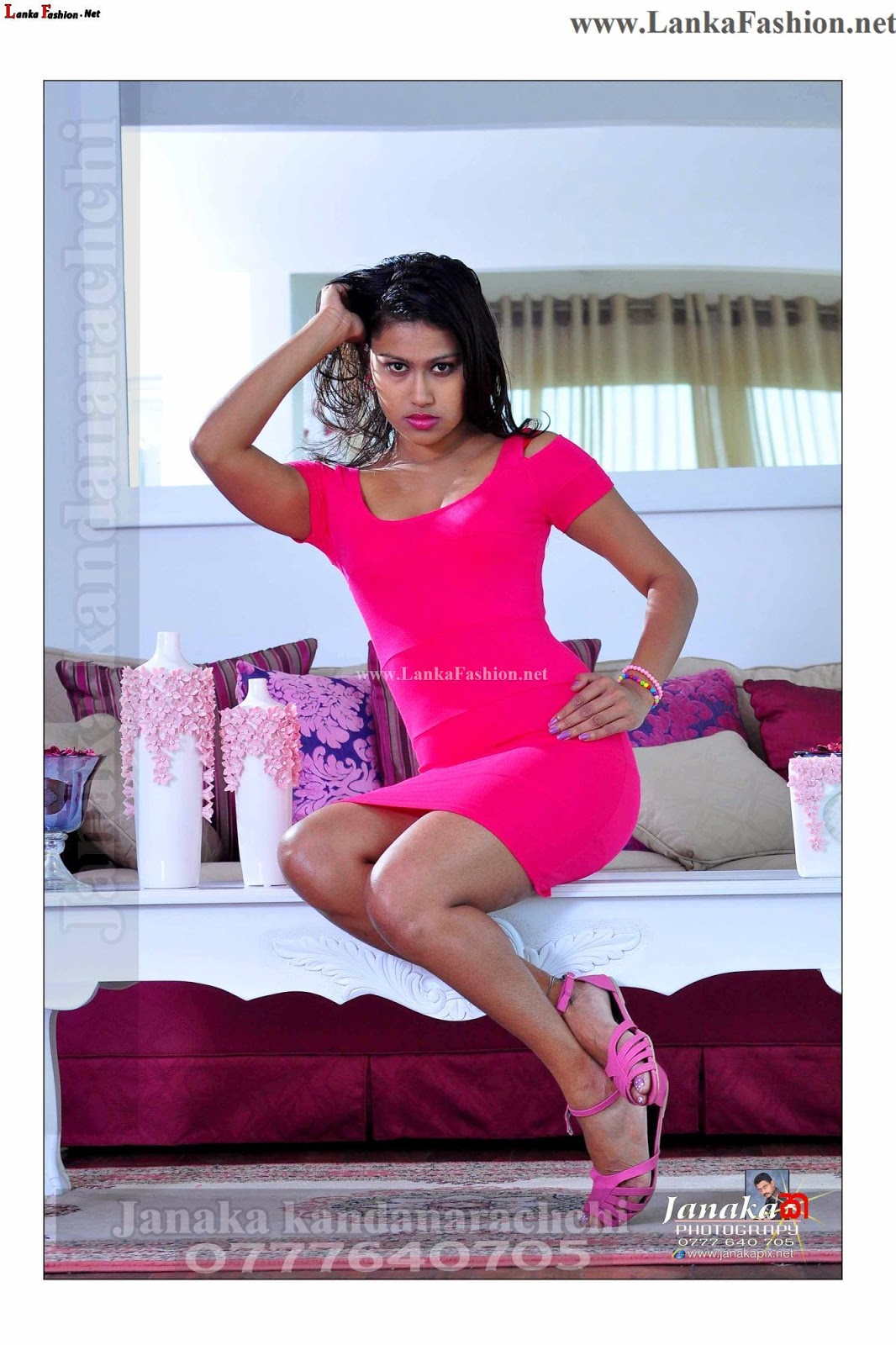 Sri Lankan popular model Chathu Paba Dilhara