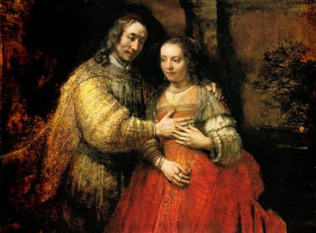 La fiancée juive de Rembrandt, vers 1667