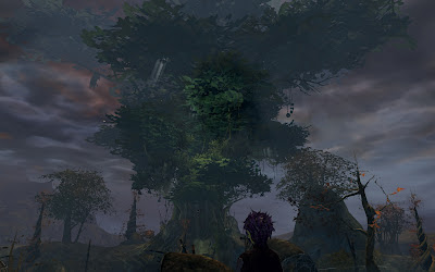 GW2 Guild Wars 2 big tree God's Hand