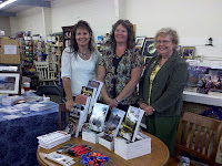 From left: authors Carmen Peone, Paty Jeger & Janet Chester Bly