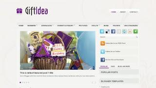 GiftIdea Blogger Templates