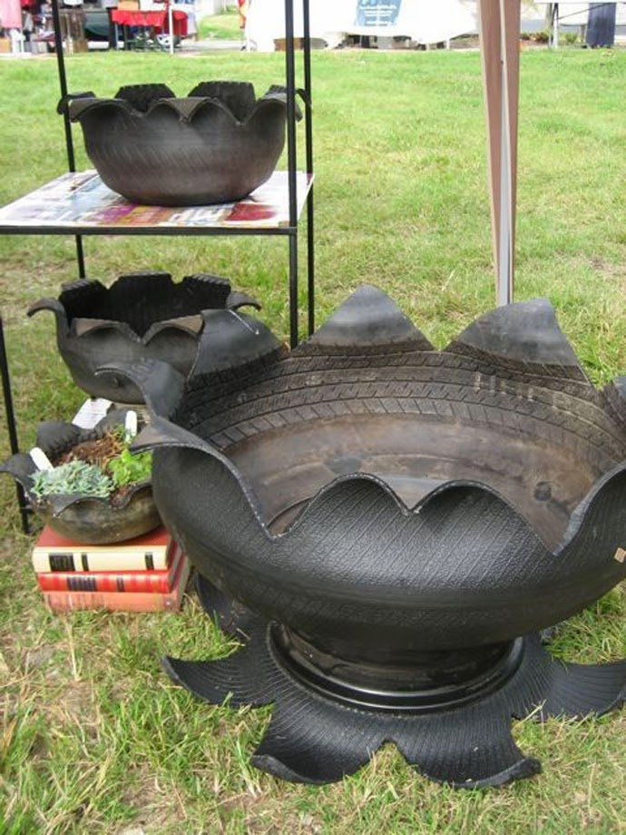 recycle tire designrulz 13  بعض الافكار المختلفه للاستفاده من اطارات السيارات الغير مستخدمه
