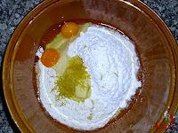 Roscón de Reyes de Trufa-masa roscón-todos los ingredientes