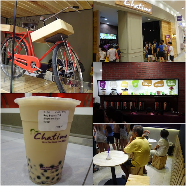 Chatime is an international brand which serves various flavour of healthy milk tea and popular among young generations in Malaysia and other Asia countries