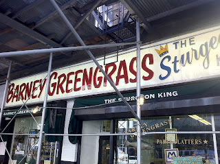 Barney Greengrass in NYC