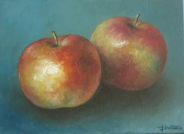 Dos manzanas (4F)