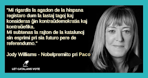 Mesaĝo de Jody Williams