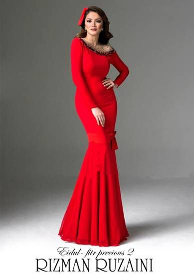 Design Baju Raya 2012 by Rizman Ruzaini - Nur Fazura :: Fashion ...