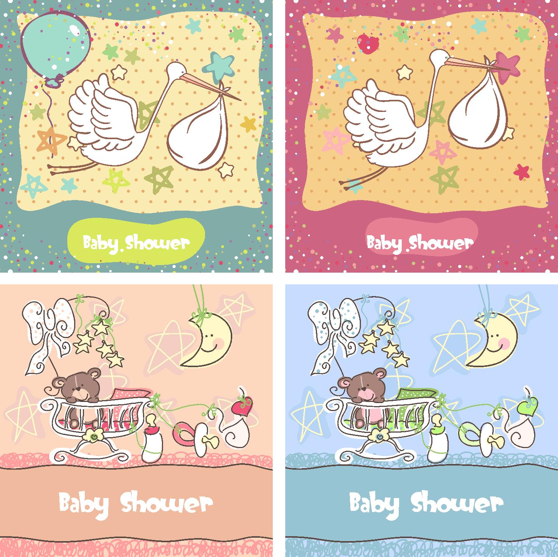 Plantillas gratis para invitaciónes de Baby Shower - Imagui