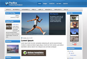 Pacifica Blogger Template