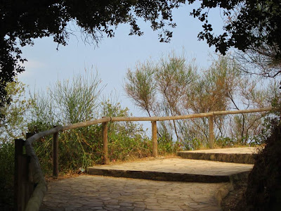 Stairs to Sant Francesc beach in Blanes